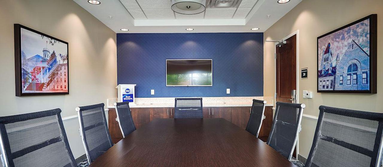 Meeting Room At Hotel Best Western, Gettysburg