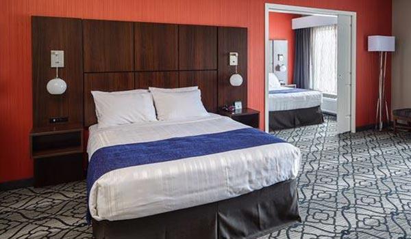 Hotel Best Western, Gettysburg Double Queen Suite