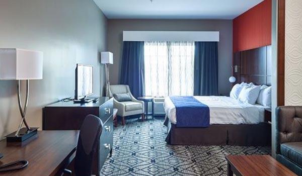King Room At Hotel Best Western, Gettysburg
